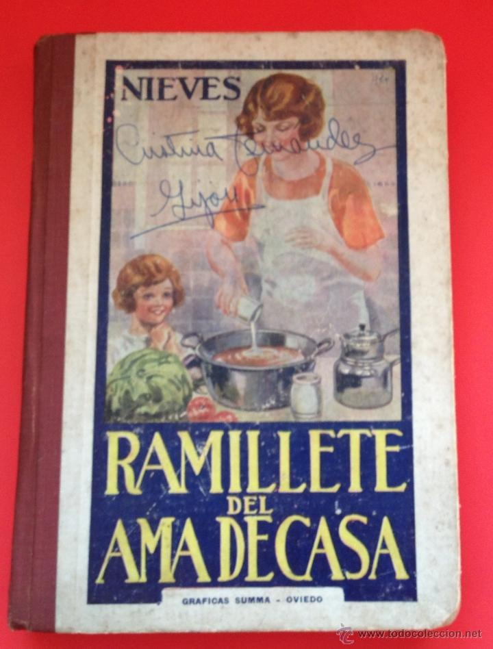 RAMILLETE DEL AMA DE CASA NIEVES (Libros de Segunda Mano - Cocina y Gastronomía)