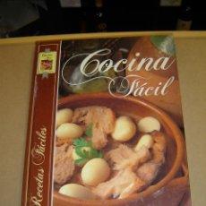 Libros de segunda mano: COCINA FÁCIL - 725 RECETAS FÁCILES. Lote 47102065