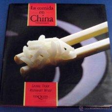Libros de segunda mano: LA COMIDA EN CHINA. 1º EDICIÓN. Lote 117585870
