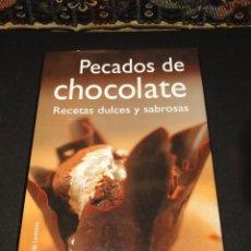 Gebrauchte Bücher - PECADOS DE CHOCOLATE.Recetas dulces y sabrosas.--JOANNA FARROW - 41062278