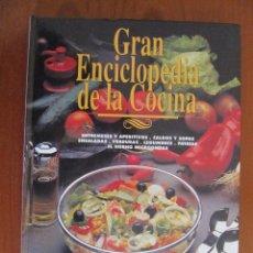 Libros de segunda mano: GRAN ENCICLOPEDIA DE LA COCINA. TOMO 1. ABC. ENTREMESES Y APERITIVOS, CALDOS Y SOPAS, ENSALADAS,.... Lote 41114456