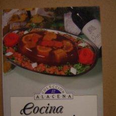 Libros de segunda mano: COCINA CON VINO - COLECCIÓN ALACENA. Lote 41257890