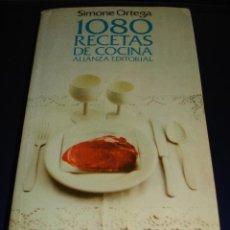 Libros de segunda mano: 1080 RECETAS DE COCINA. Lote 41454384