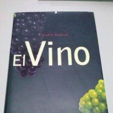 Libros de segunda mano: EL VINO.AUTOR- ANDRE DOMINE -EDITORIAL KONEMAN. Lote 41493475
