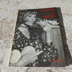 Libros de segunda mano: LIBRO ZUMOS Y SALUD V. KELLY 1974 ED. REUS L-6114. Lote 41542803
