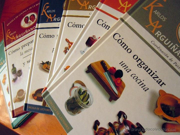 colección de 6 libros de karlos arguiñano escue - Comprar Libros de ...