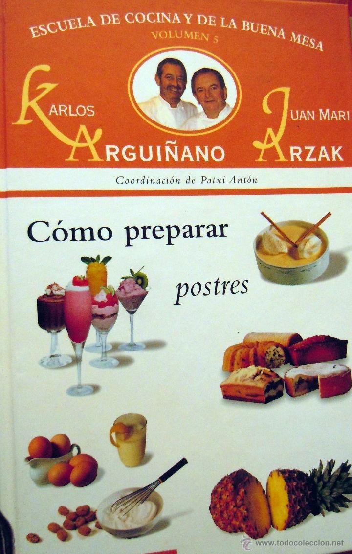 Escuela De Cocina Karlos Arguiñano | Coleccion De 6 Libros De Karlos Arguinano Escue Comprar Libros