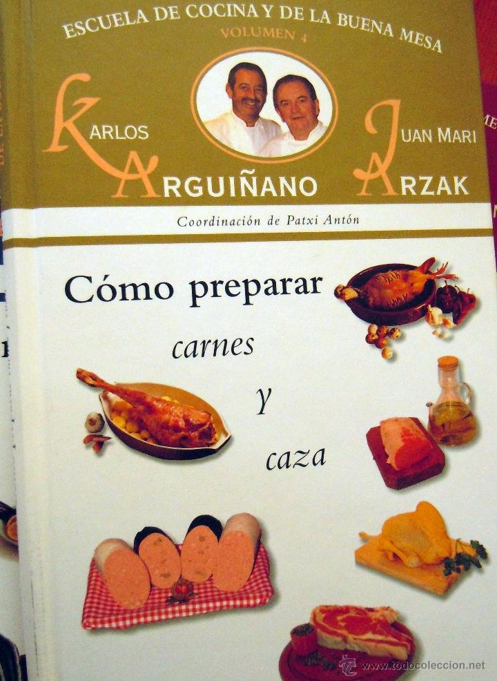 Escuela De Cocina De Karlos Arguiñano | Coleccion De 6 Libros De Karlos Arguinano Escue Comprar Libros