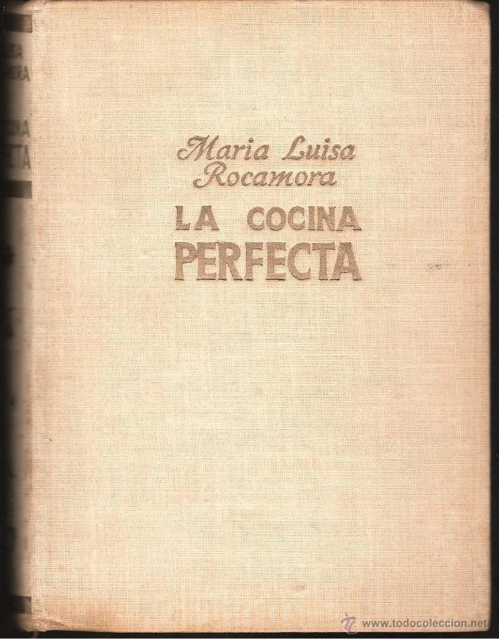 Libro De Maria Luisa Rocamora La Cocina Perfect Sold Through
