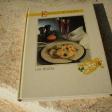 Libros de segunda mano: LIBRO ESCUELA DE COCINA LAS PASTAS L-382-25. Lote 42858800