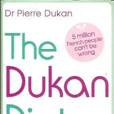 Libros de segunda mano: THE DUKAN DIET DR PIERRE DUKAN. Lote 43192468
