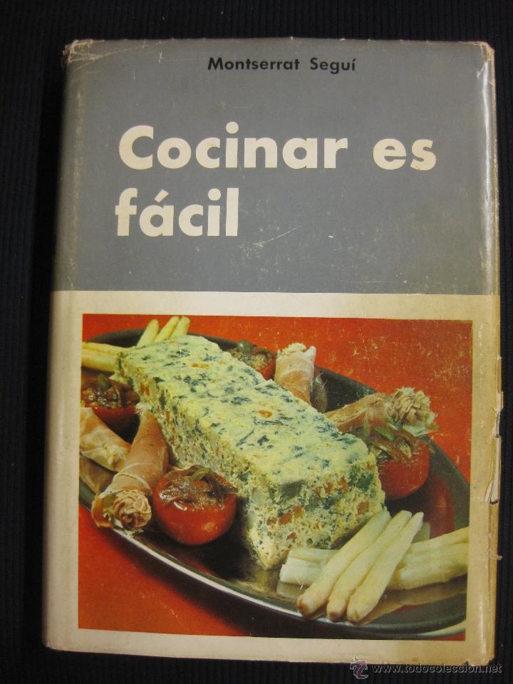 Cocinar es facil montserrat ge comprar for Cocina segunda mano barcelona
