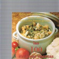 Libros de segunda mano - LAS 100 MEJORES RECETAS - TELVA - 43261586