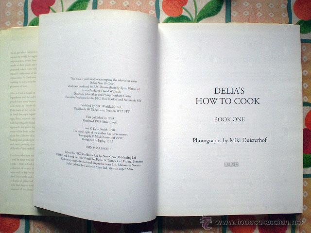 Libros de segunda mano: Delia's How To Cook (completa, 3 tomos originales) BBC (idioma: inglés) - Foto 4 - 43935119