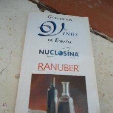 Libros de segunda mano: LIBRO GUIA DE LOS VINOS DE ESPAÑA RODRIGO MESTRE 2000 L-7644. Lote 44067165