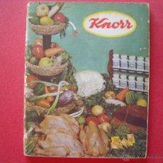 Libros de segunda mano: KNORR.-LIBRO DE COCINA.-RECETAS.-AÑO 1966.. Lote 44379564
