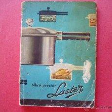Libros de segunda mano: LASTER.-OLLA A PRESION.-GARCIA DE LEGARDA.-BILBAO.-VIZCAYA.. Lote 44379577