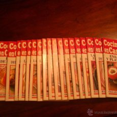 Libros de segunda mano: COCINA EN CASA ( COLECCION 20 LIBROS). Lote 45159920
