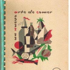 Libros de segunda mano: UN NUEVO ARTE DE COMER. WESTINGHOUSE. OBSEQUIO DE FRIMOTOR, S.A.E. 1961. Lote 45268859