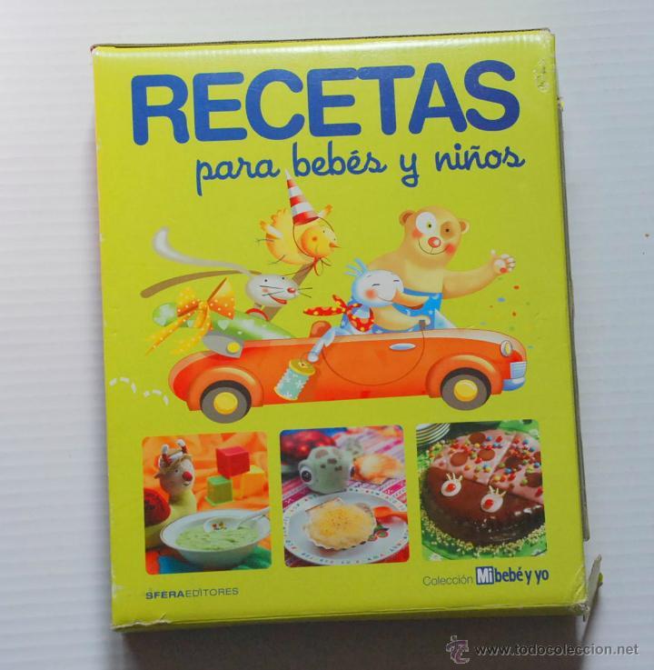 COLECCION COMPLETA RECETAS PARA BEBES Y NIÑOS SFERA EDITORES 2011 (Libros de Segunda Mano - Cocina y Gastronomía)
