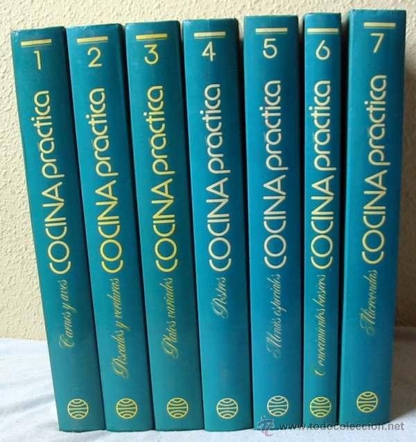 COCINA PRÁCTICA - 7 TOMOS COMPLETA - PLANETA 1992 - 2073 PÁGINAS - VER DESCRIPCIÓN E ÍNDICES (Libros de Segunda Mano - Cocina y Gastronomía)
