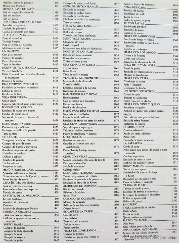 Libros de segunda mano: COCINA PRÁCTICA - 7 TOMOS COMPLETA - PLANETA 1992 - 2073 PÁGINAS - VER DESCRIPCIÓN E ÍNDICES - Foto 17 - 45610683