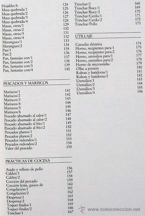 Libros de segunda mano: COCINA PRÁCTICA - 7 TOMOS COMPLETA - PLANETA 1992 - 2073 PÁGINAS - VER DESCRIPCIÓN E ÍNDICES - Foto 20 - 45610683