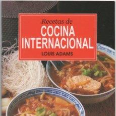 Libros de segunda mano: RECETAS DE COCINA INTERNACIONAL. Lote 45666762
