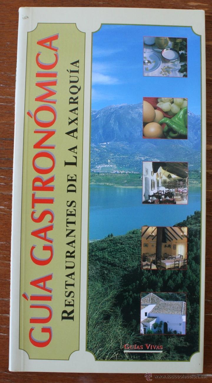 Guia gastronomica de la axarquia malaga res comprar for Cocina restaurante segunda mano