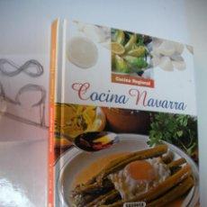 Libros de segunda mano: COCINA REGIONAL - COCINA NAVARRA. Lote 46088944