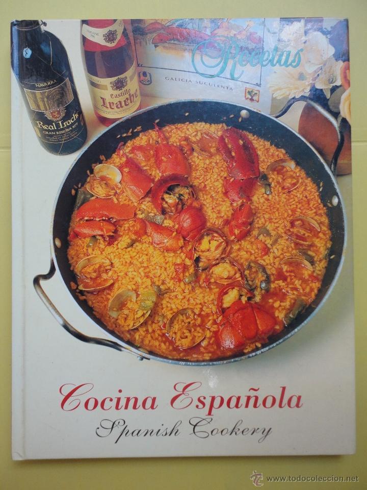 COCINA ESPAÑOLA. RECETAS (Libros de Segunda Mano - Cocina y Gastronomía)