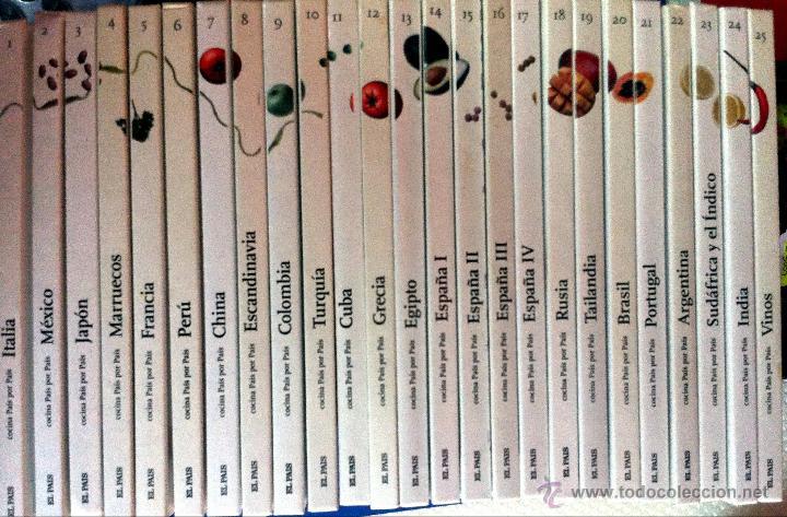 cocina pais por pais 25 tomos - Comprar Libros de cocina y ...