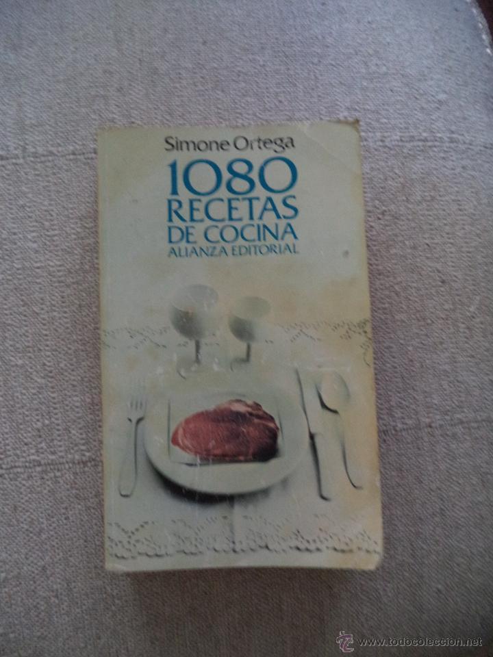 Simone Ortega 1080 Recetas De Cocina | 1080 Recetas De Cocina Simone Ortega Comprar Libros De Cocina Y