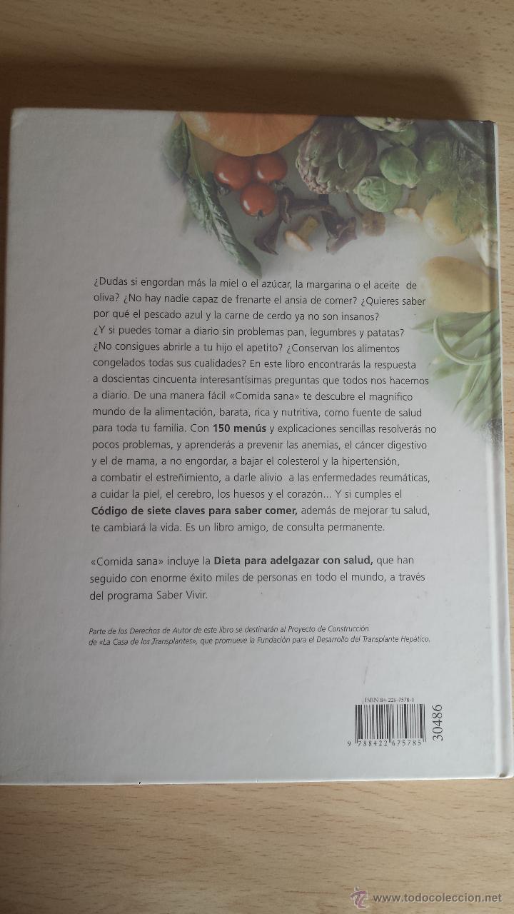 Comida Sana De Saber Vivir Comprar Libros De Cocina Y  ~ Dieta Adelgazamiento Saber Vivir