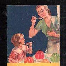 Libros de segunda mano: NUEVAS RECETAS DE JELL-O PARA TODA OCASION. USA. 1933. 22 PAGINAS. VER FOTOS. Lote 47948590