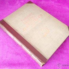 Libros de segunda mano: PASTELERIA, CONFITERIA, THEORY AND PRACTICE, CONFECTIONER, J. M. ERICH WEBER 1929. Lote 48157962