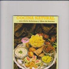 Libros de segunda mano - COCINA NATURAL....UNA DIETA DELICIOSA Y LIBRE DE KARMA - BARCELONA 2009 / ILUSTRADO - 48547998
