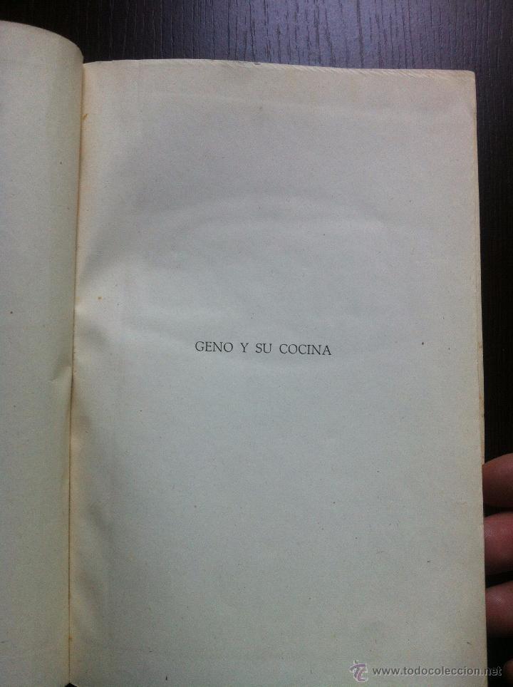 Libros de segunda mano: GENO Y SU COCINA - GENOVEVA RUIZ ZABALDA - EDITORIAL GOMEZ - PAMPLONA - 1952 - TAPAS DURAS - - Foto 4 - 48562830