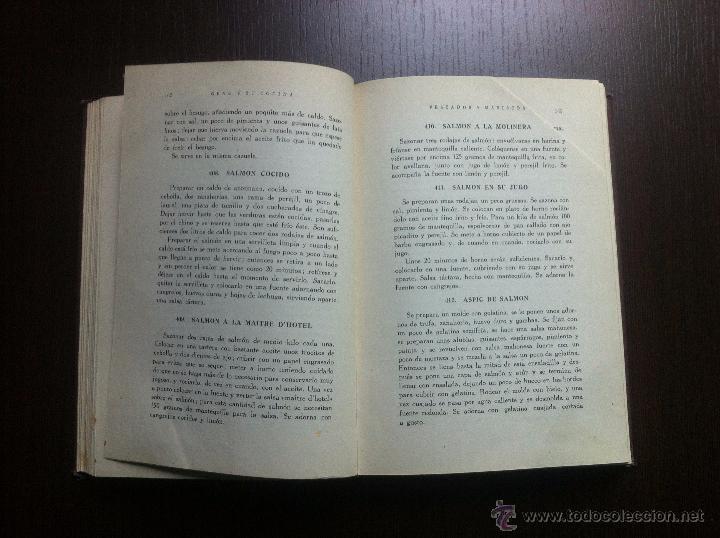 Libros de segunda mano: GENO Y SU COCINA - GENOVEVA RUIZ ZABALDA - EDITORIAL GOMEZ - PAMPLONA - 1952 - TAPAS DURAS - - Foto 7 - 48562830