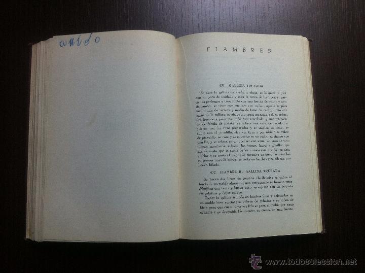 Libros de segunda mano: GENO Y SU COCINA - GENOVEVA RUIZ ZABALDA - EDITORIAL GOMEZ - PAMPLONA - 1952 - TAPAS DURAS - - Foto 8 - 48562830