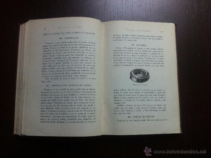 Libros de segunda mano: GENO Y SU COCINA - GENOVEVA RUIZ ZABALDA - EDITORIAL GOMEZ - PAMPLONA - 1952 - TAPAS DURAS - - Foto 9 - 48562830