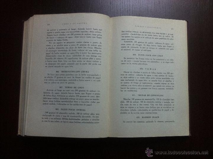 Libros de segunda mano: GENO Y SU COCINA - GENOVEVA RUIZ ZABALDA - EDITORIAL GOMEZ - PAMPLONA - 1952 - TAPAS DURAS - - Foto 10 - 48562830