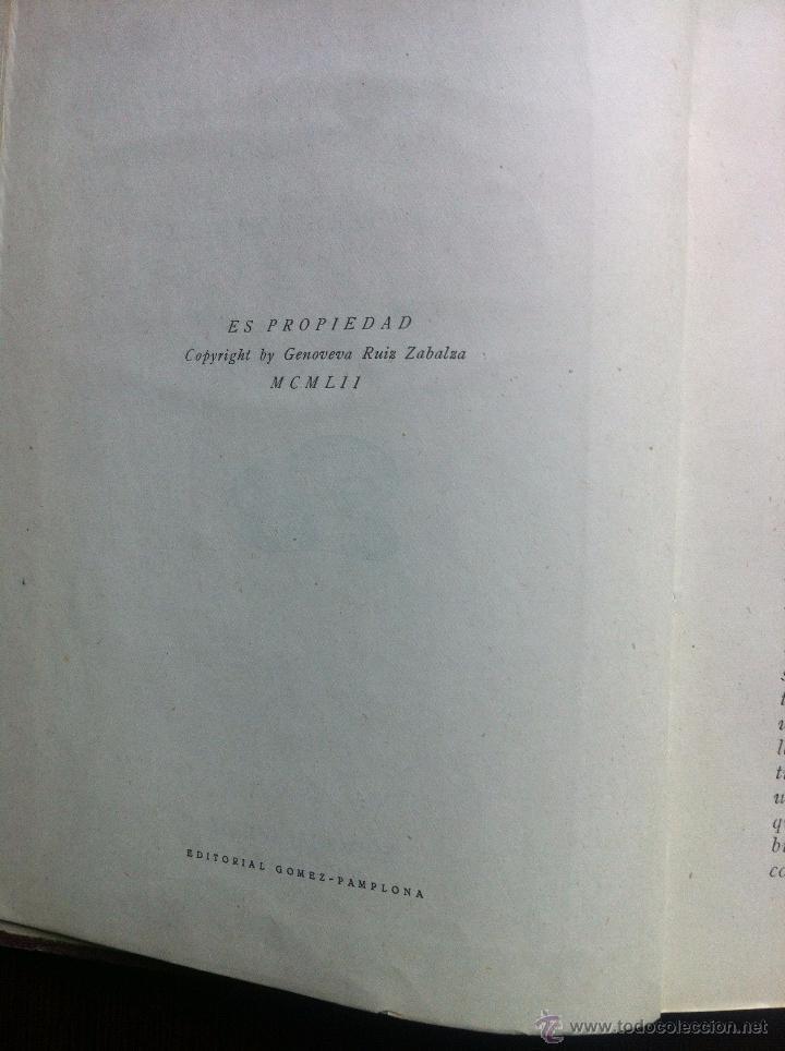 Libros de segunda mano: GENO Y SU COCINA - GENOVEVA RUIZ ZABALDA - EDITORIAL GOMEZ - PAMPLONA - 1952 - TAPAS DURAS - - Foto 12 - 48562830