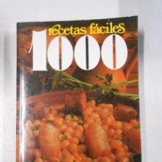 Libros de segunda mano: 1000 RECETAS FACILES PARA COCINAR TODO EL AÑO. CLARA SAN MILLAN. TDKLT. Lote 49120610