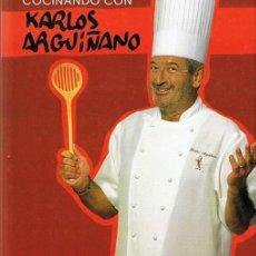 Libros de segunda mano: COCINANDO CON KARLOS ARGUIÑANO. Lote 49257662