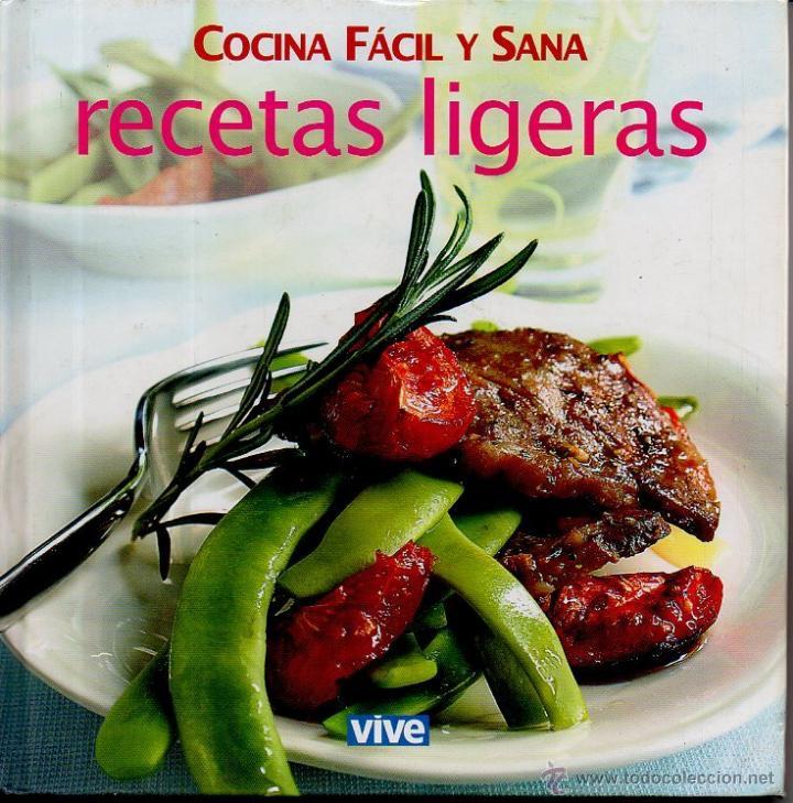 Cocina Facil Y Sana Recetas Ligeras Globus Comprar Libros De