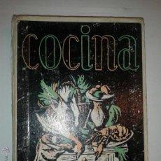 Libros de segunda mano: MANUAL DE COCINA RECETARIO 1962 SECCIÓN FEMENINA DE F. E. T. Y DE LAS J. O. N. S 12º EDICIÓN . Lote 49894566