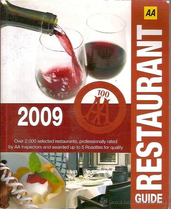 GUIDE RESTAURANT 2009 (Libros de Segunda Mano - Cocina y Gastronomía)
