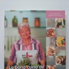 Libros de segunda mano: LA BONA CUINA DE PAQUITA TOMAS - LAS RECETAS DEL PROGRAMA DE TELEVISION - COCINA. Lote 50336377