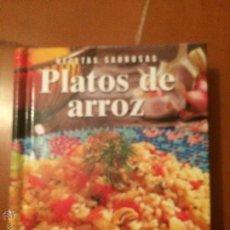 Libros de segunda mano: LIBRO DE COCINA, PLATOS DE ARROZ . Lote 50371602
